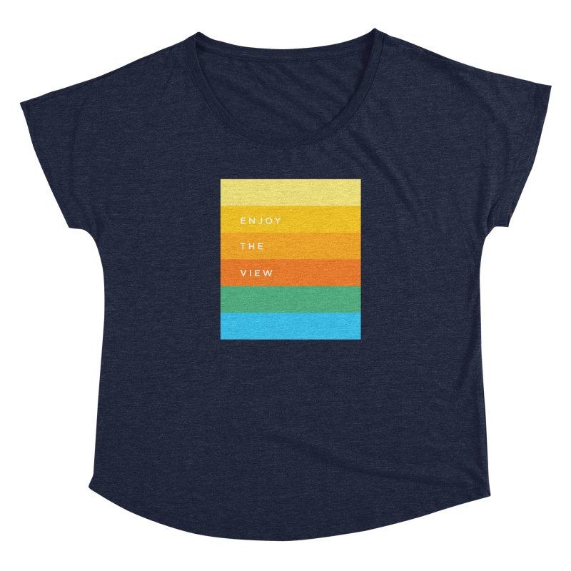 Enjoy the view Women's Scoop Neck by Shane Guymon Shirt Shop