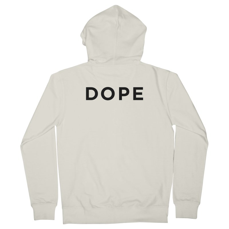 DOPE Men's Zip-Up Hoody by Shane Guymon