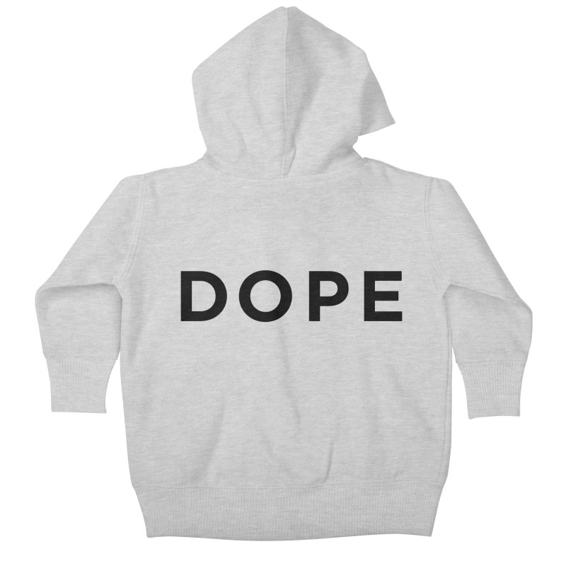 DOPE Kids Baby Zip-Up Hoody by Shane Guymon