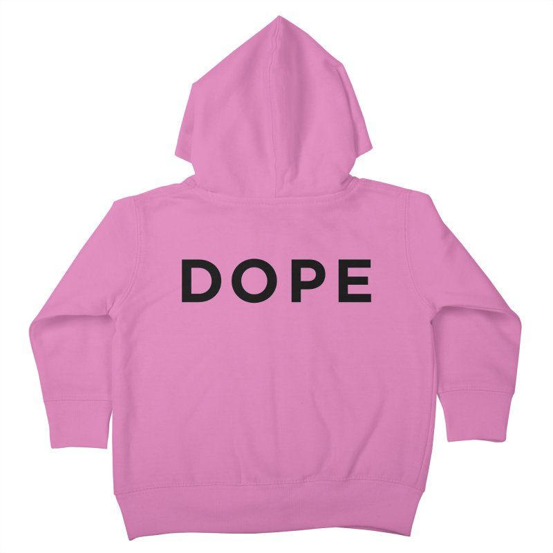 DOPE Kids Toddler Zip-Up Hoody by Shane Guymon