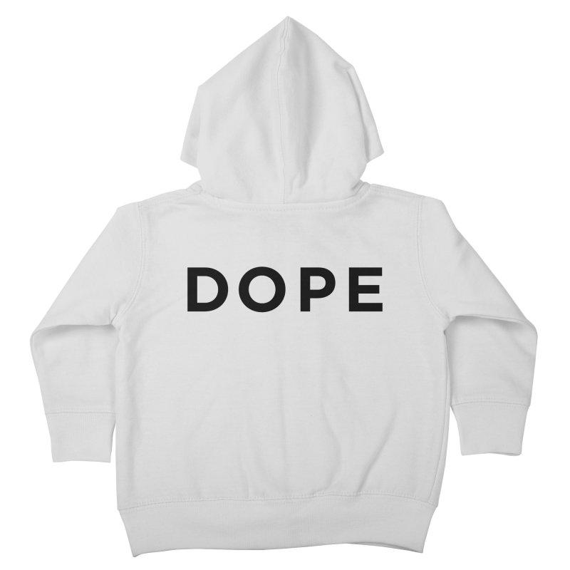 DOPE Kids Toddler Zip-Up Hoody by Shane Guymon