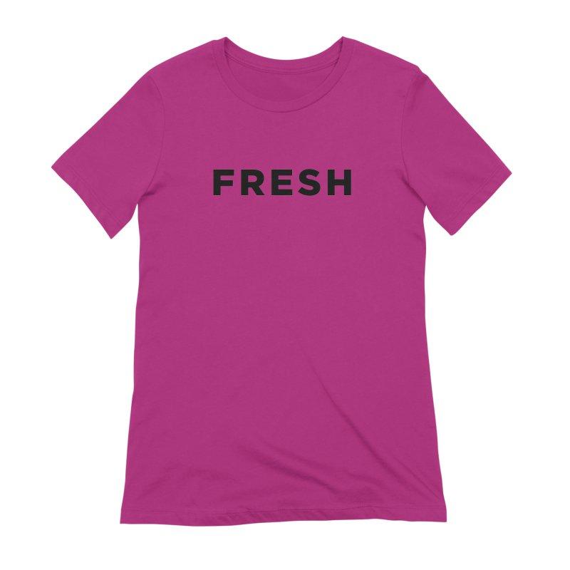 Fresh Women's Extra Soft T-Shirt by Shane Guymon