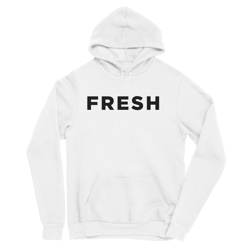 Fresh Men's Sponge Fleece Pullover Hoody by Shane Guymon