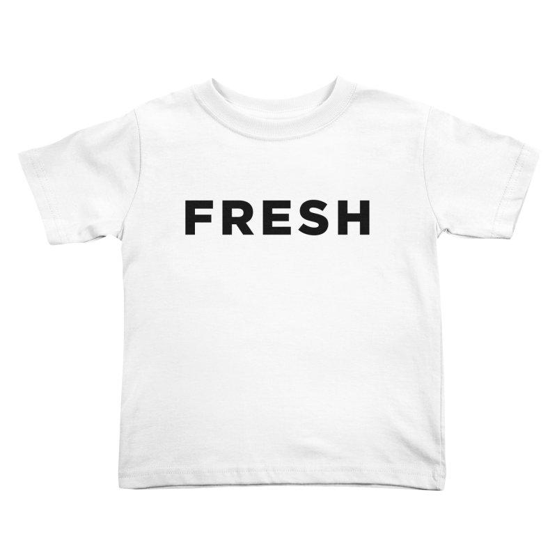 Fresh Kids Toddler T-Shirt by Shane Guymon