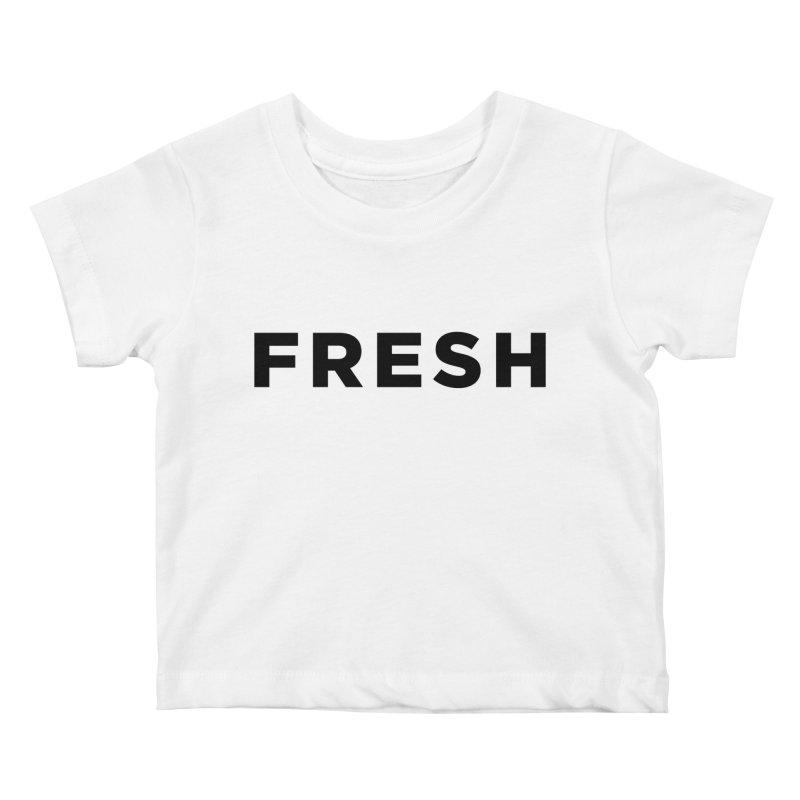Fresh Kids Baby T-Shirt by Shane Guymon