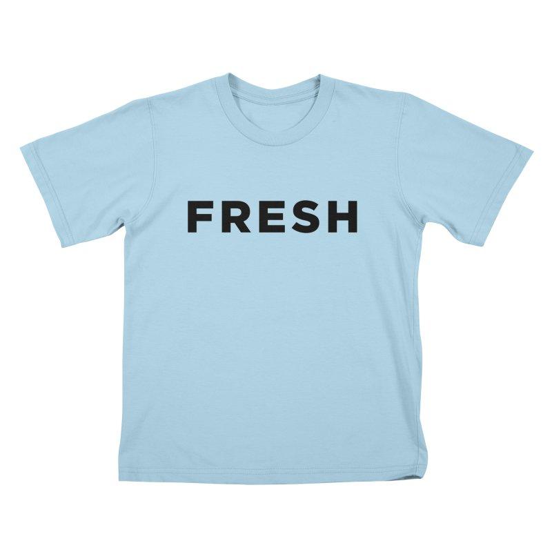 Fresh Kids T-Shirt by Shane Guymon