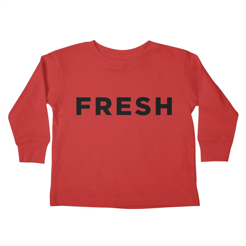 Fresh Kids Toddler Longsleeve T-Shirt by Shane Guymon