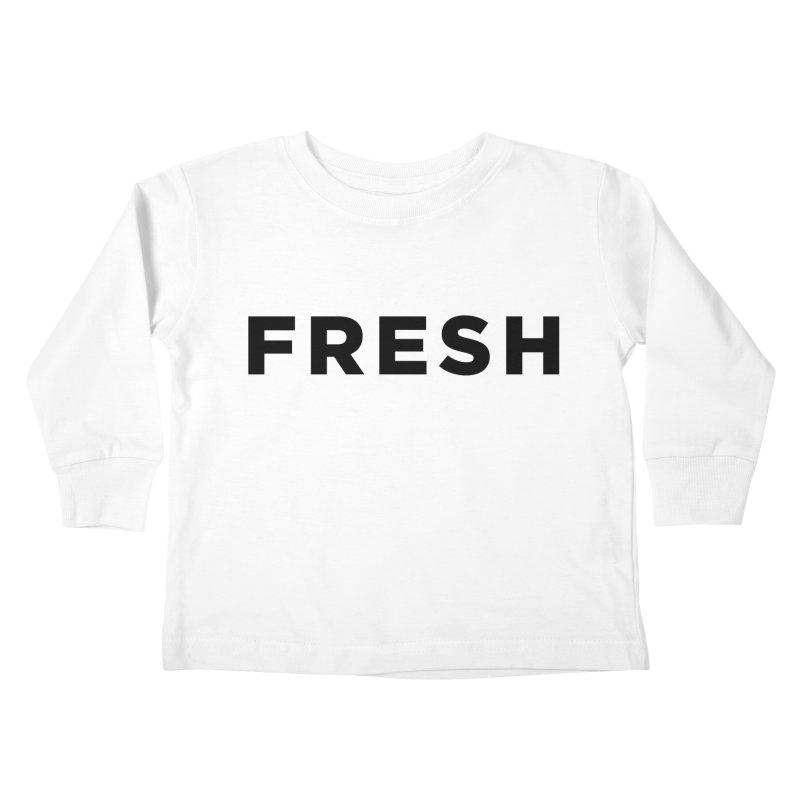 Fresh Kids Toddler Longsleeve T-Shirt by Shane Guymon