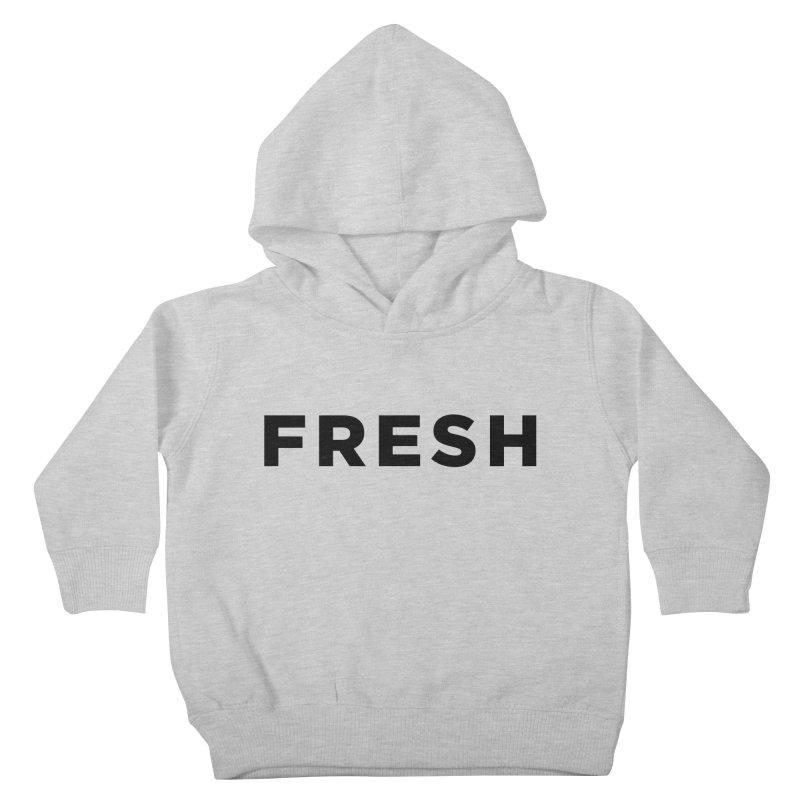 Fresh Kids Toddler Pullover Hoody by Shane Guymon