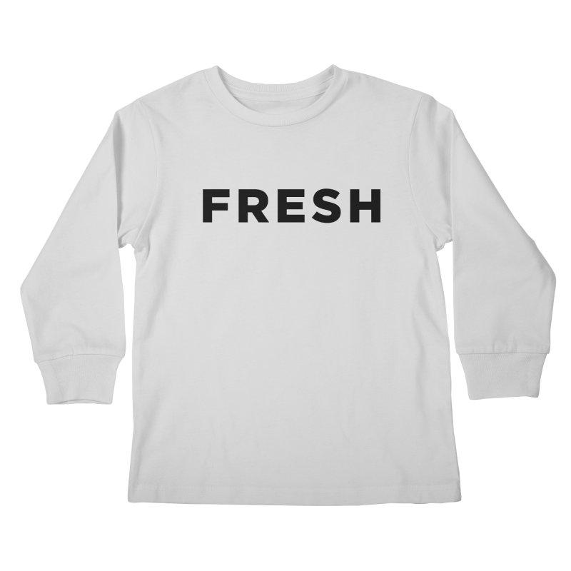 Fresh Kids Longsleeve T-Shirt by Shane Guymon