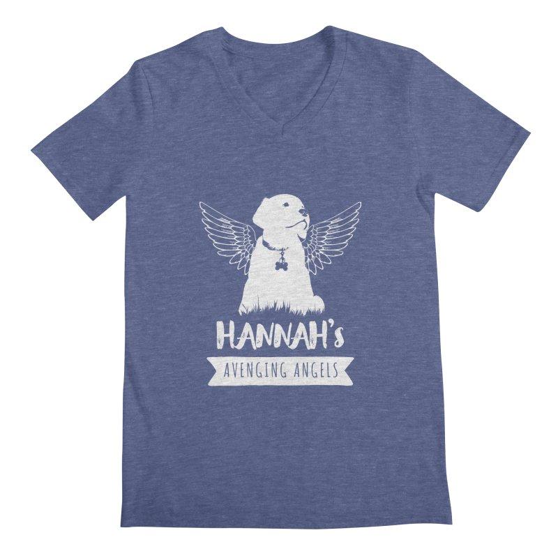 Hannah's Avenging Angels Men's V-Neck by Shane Guymon