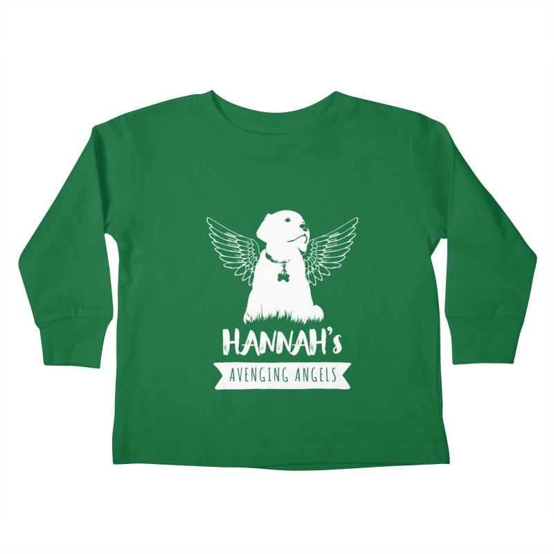 Hannah's Avenging Angels Kids Toddler Longsleeve T-Shirt by Shane Guymon