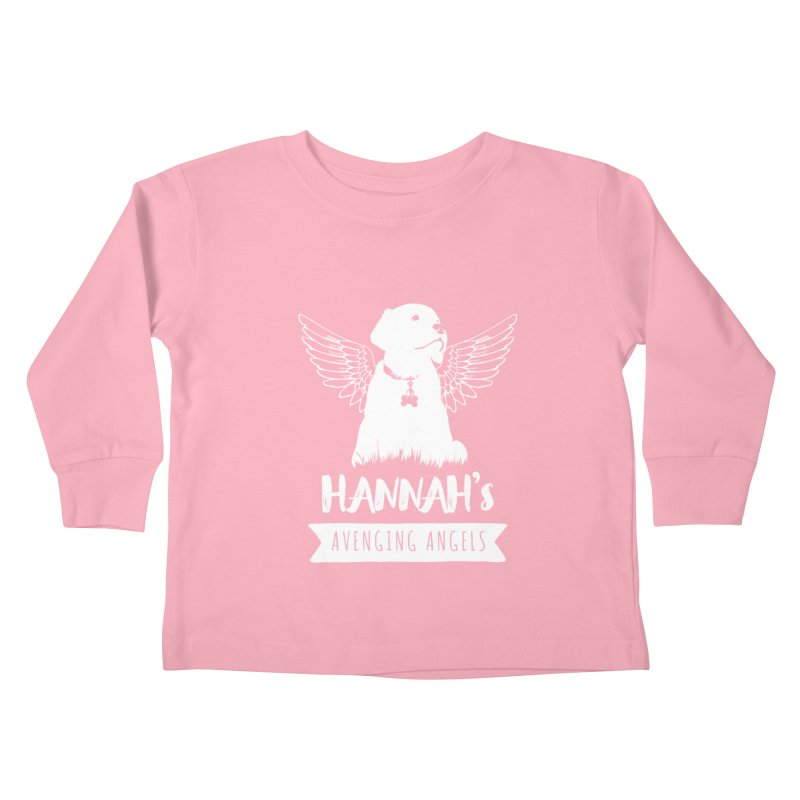 Hannah's Avenging Angels Kids Toddler Longsleeve T-Shirt by Shane Guymon