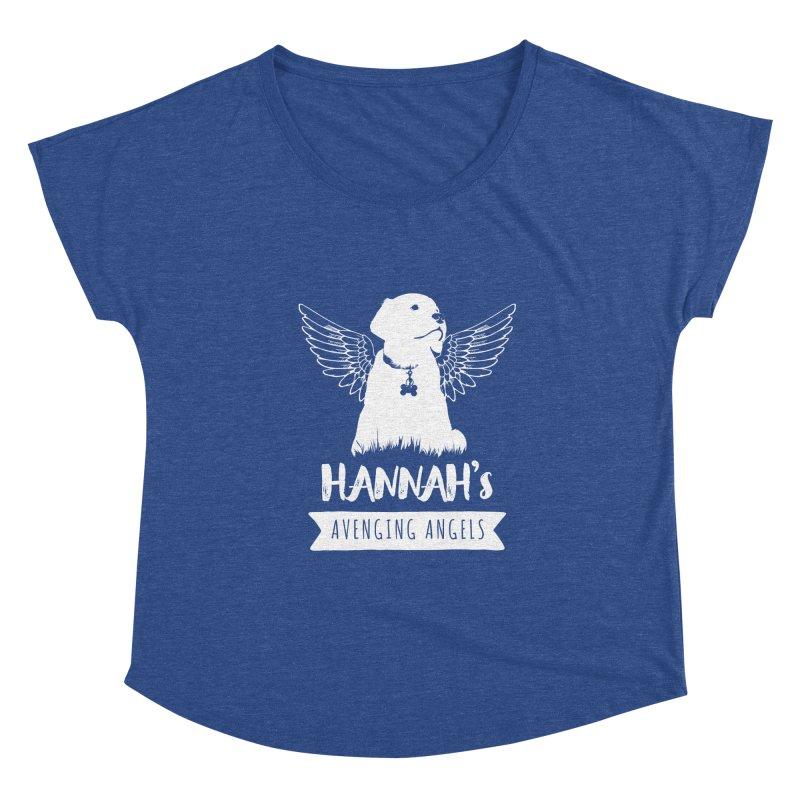 Hannah's Avenging Angels Women's Scoop Neck by Shane Guymon Shirt Shop