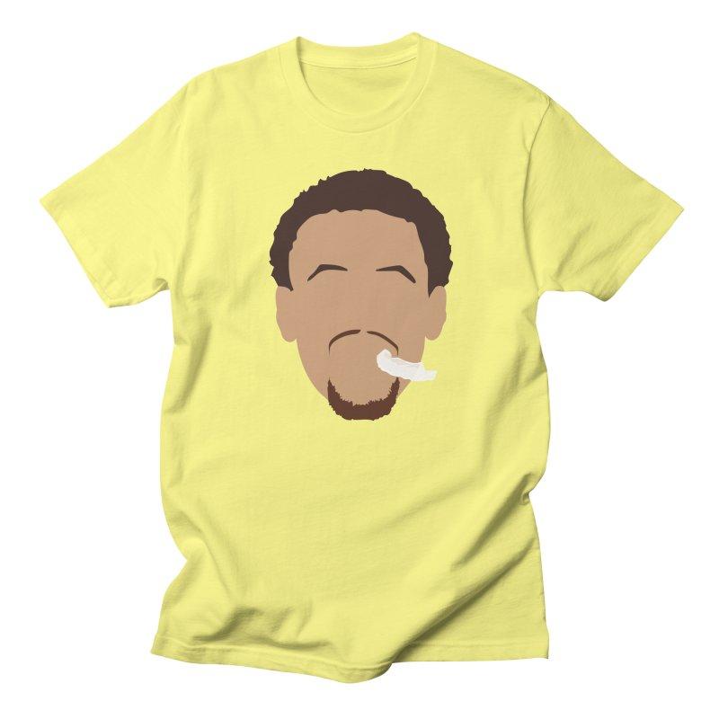 Steph Curry Head Men's T-Shirt by Shane Guymon