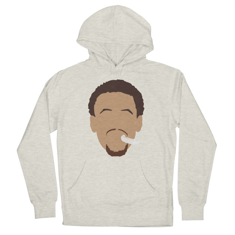 Steph Curry Head Men's French Terry Pullover Hoody by Shane Guymon