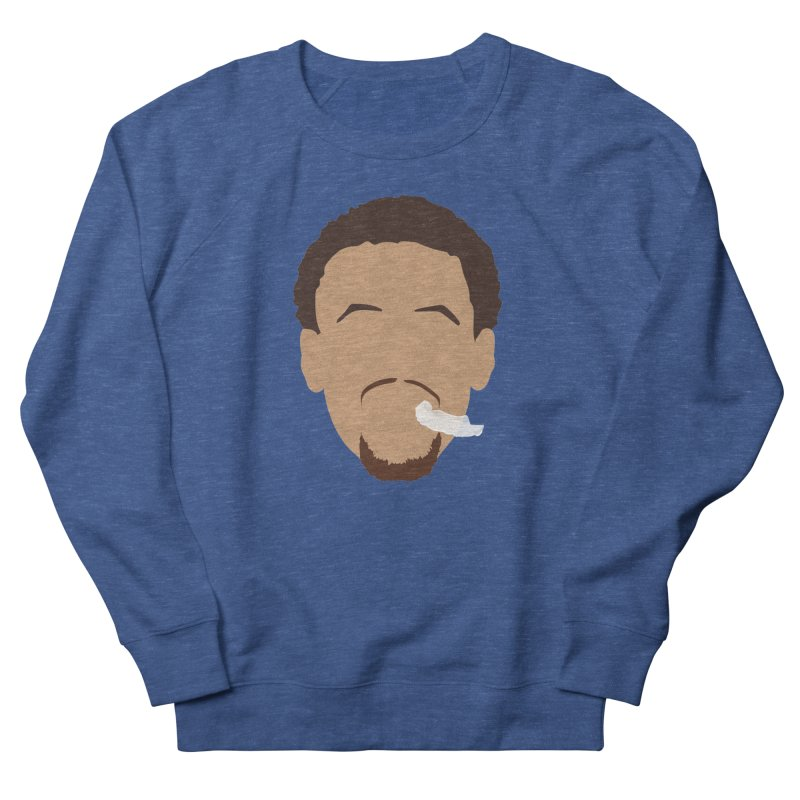 Steph Curry Head Men's French Terry Sweatshirt by Shane Guymon