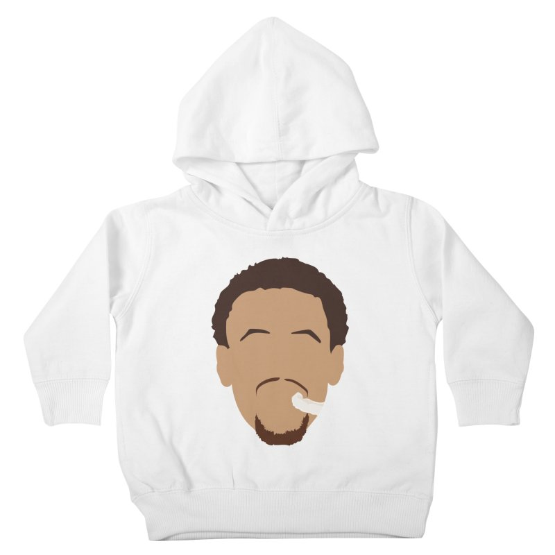 Steph Curry Head Kids Toddler Pullover Hoody by Shane Guymon