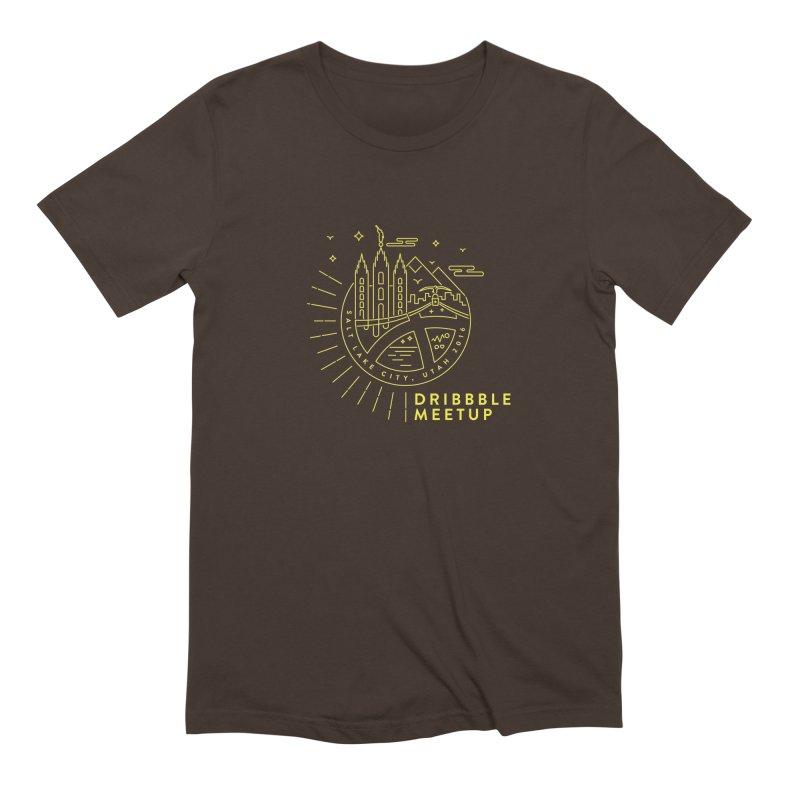 PDAU Dribbble Meetup Men's Extra Soft T-Shirt by Shane Guymon