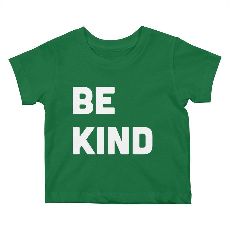 Be Kind Kids Baby T-Shirt by Shane Guymon Shirt Shop