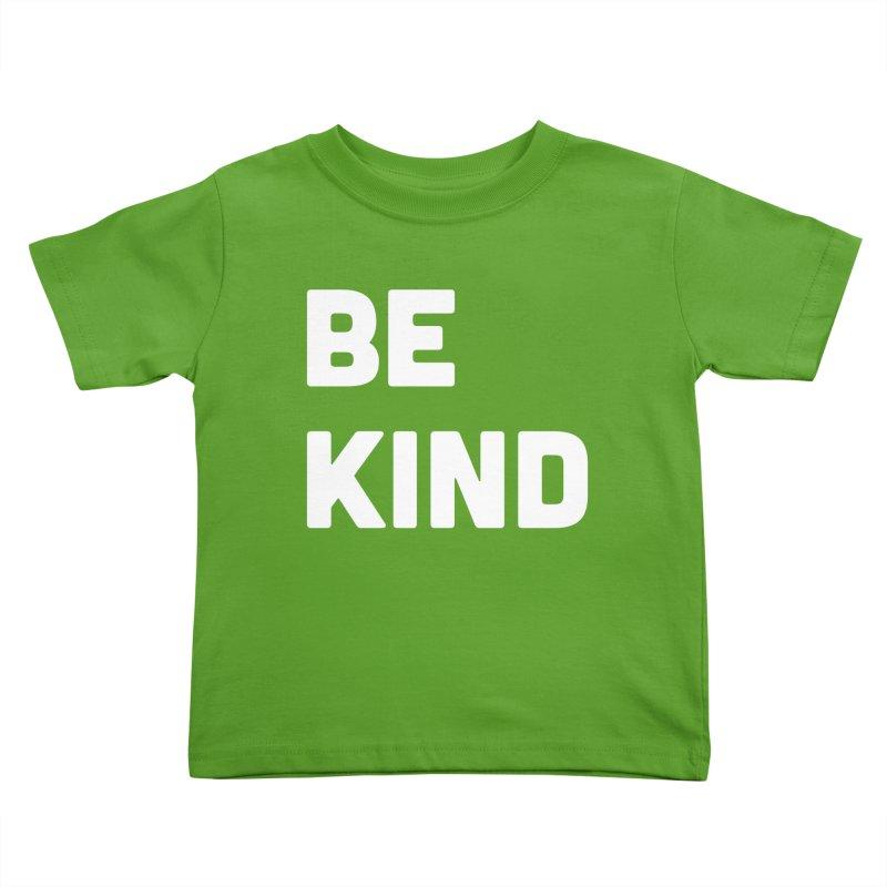 Be Kind Kids Toddler T-Shirt by Shane Guymon Shirt Shop