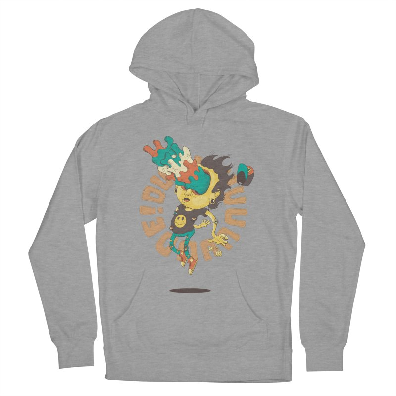 Acid Eyes Women's French Terry Pullover Hoody by Shannon's Stuff