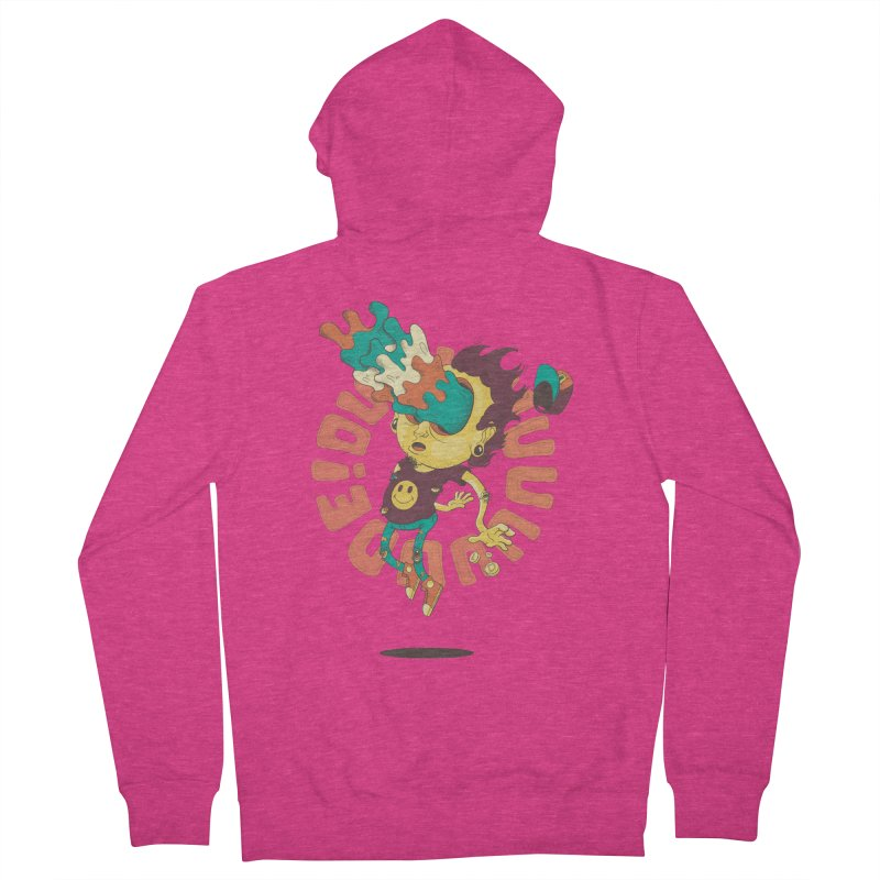 Acid Eyes Women's Zip-Up Hoody by Shannon's Stuff