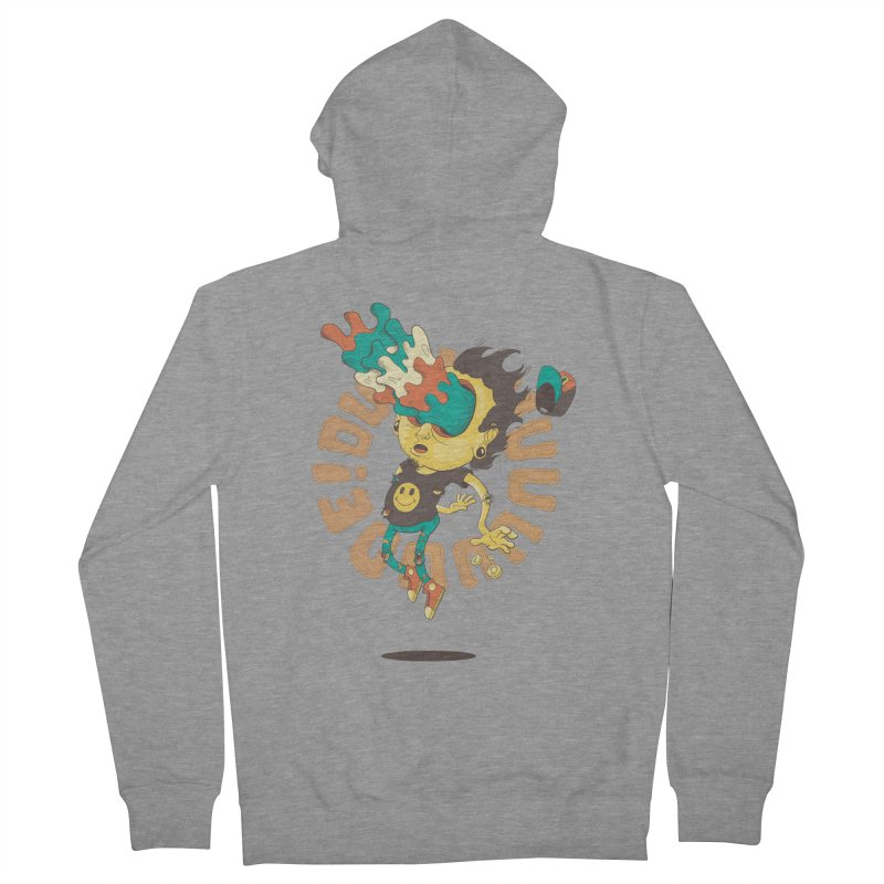 Acid Eyes Men's French Terry Zip-Up Hoody by Shannon's Stuff