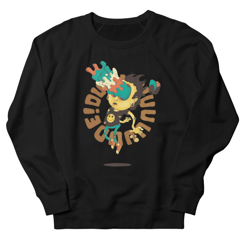 Acid Eyes Men's French Terry Sweatshirt by Shannon's Stuff