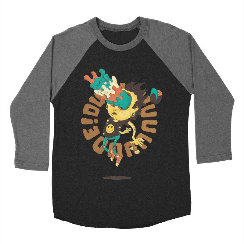 Acid Eyes Women's Baseball Triblend T-Shirt by Shannon's Stuff