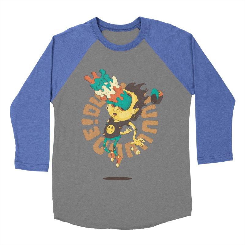 Acid Eyes Men's Baseball Triblend T-Shirt by Shannon's Stuff