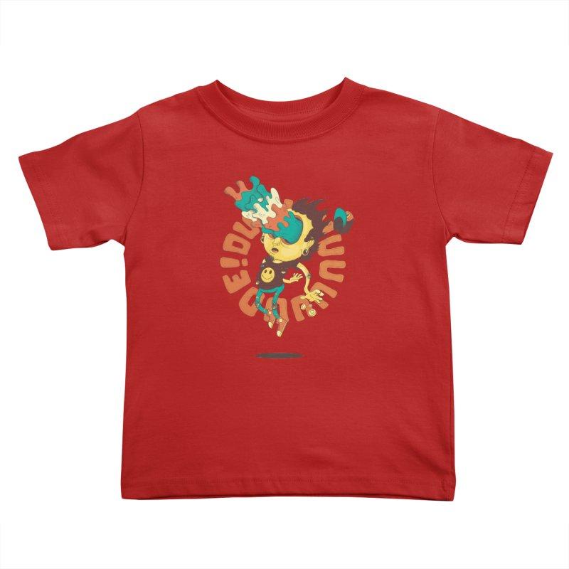 Acid Eyes Kids Toddler T-Shirt by Shannon's Stuff