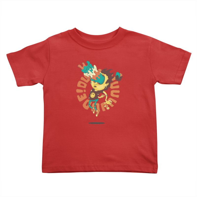 Acid Eyes Kids Toddler T-Shirt by Shannon's Stuff