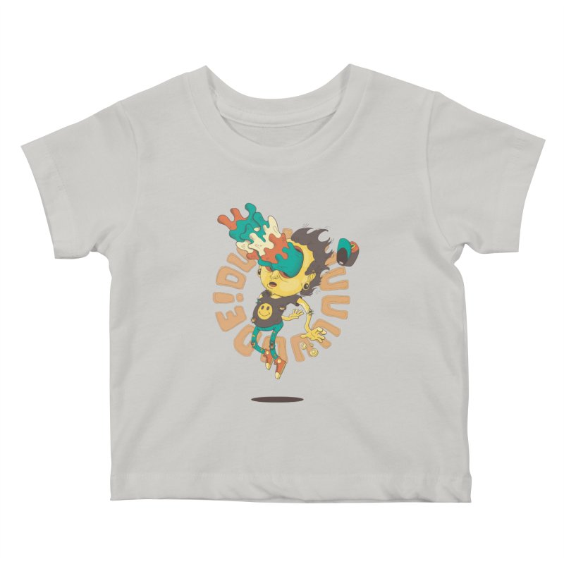 Acid Eyes Kids Baby T-Shirt by Shannon's Stuff