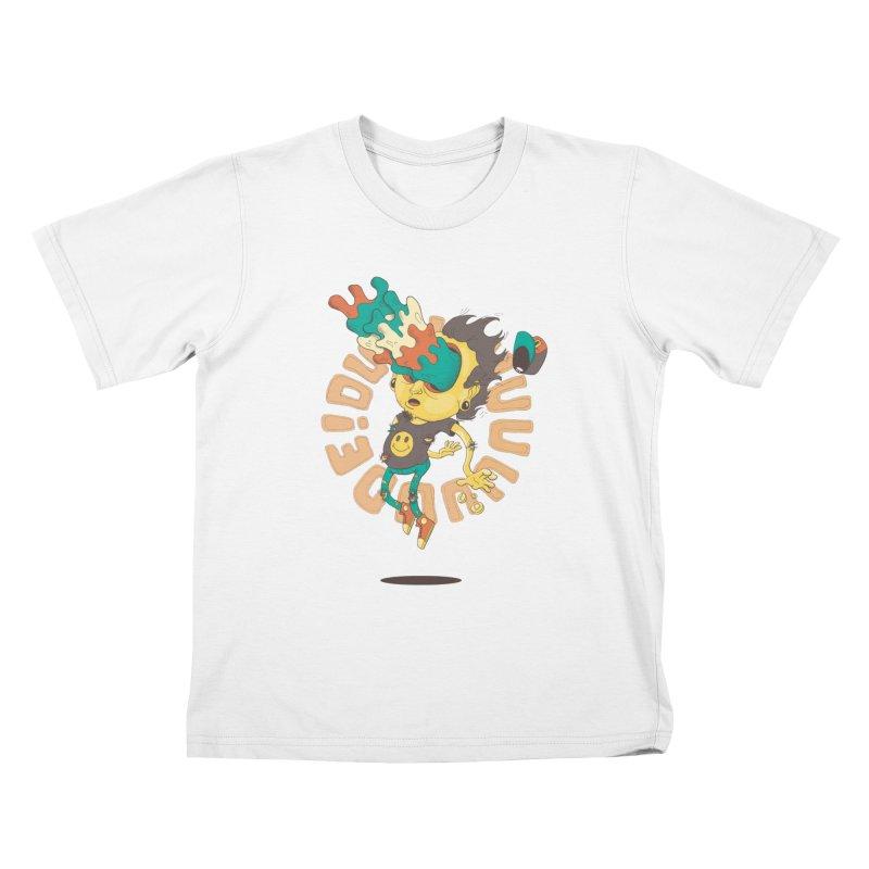 Acid Eyes Kids T-Shirt by Shannon's Stuff