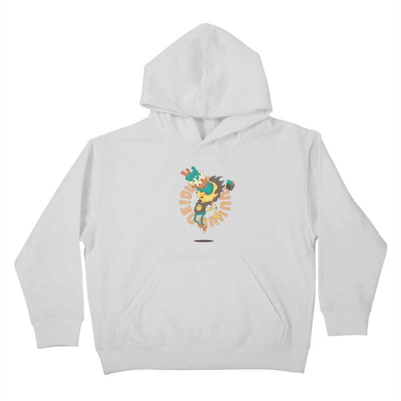Acid Eyes Kids Pullover Hoody by Shannon's Stuff