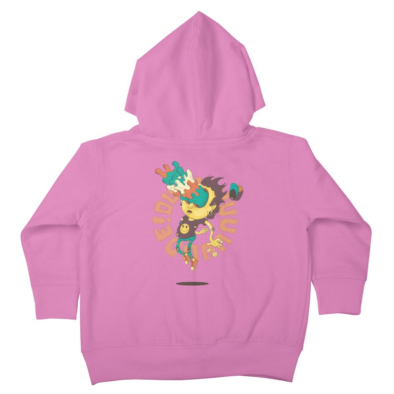 Acid Eyes Kids Toddler Zip-Up Hoody by Shannon's Stuff