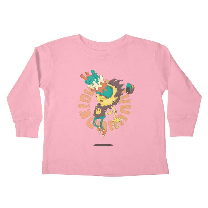 Acid Eyes Kids Toddler Longsleeve T-Shirt by Shannon's Stuff