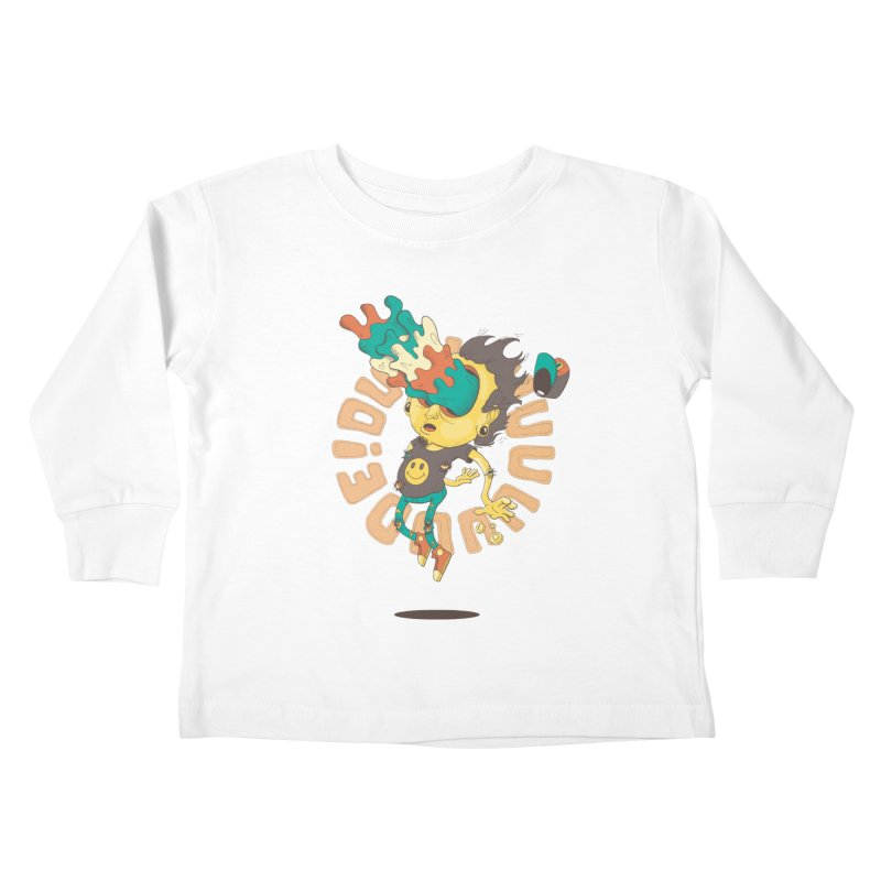 Acid Eyes Kids Toddler Longsleeve T-Shirt by Shannon's Stuff