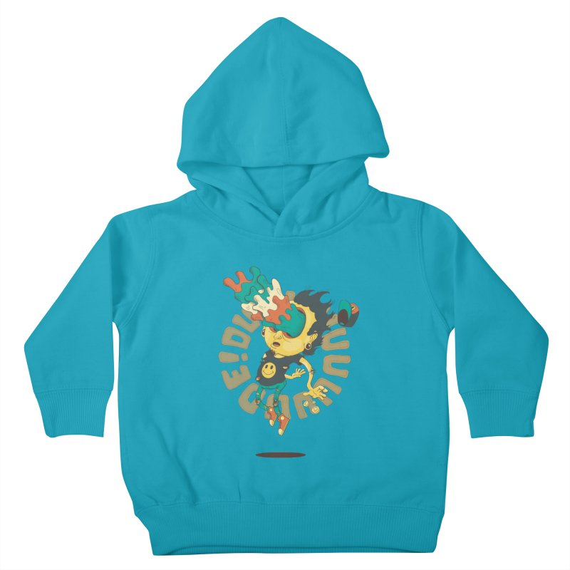 Acid Eyes Kids Toddler Pullover Hoody by Shannon's Stuff