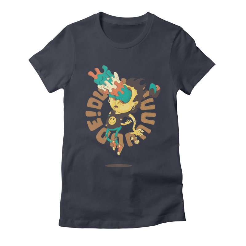 Acid Eyes Women's Fitted T-Shirt by Shannon's Stuff