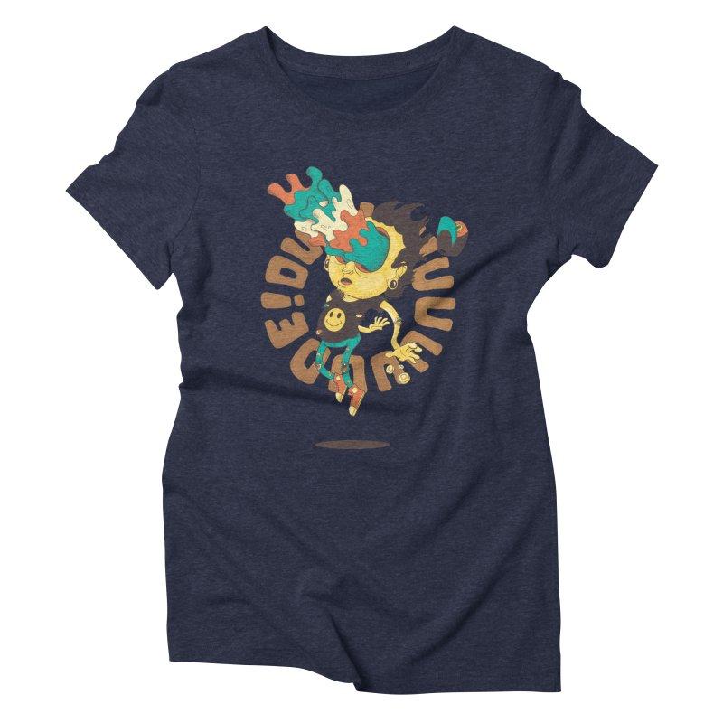Acid Eyes Women's Triblend T-Shirt by Shannon's Stuff