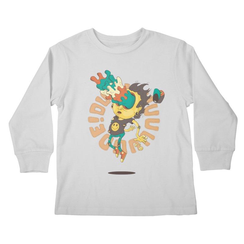 Acid Eyes Kids Longsleeve T-Shirt by Shannon's Stuff