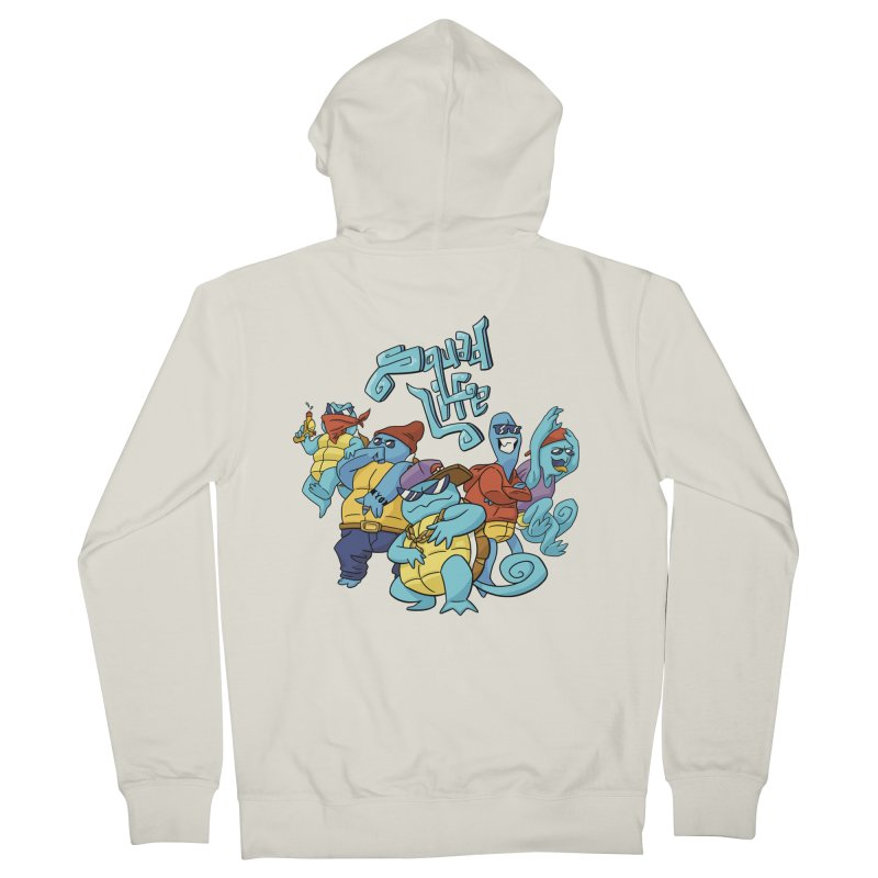 Squad Life Men's French Terry Zip-Up Hoody by Shannon's Stuff