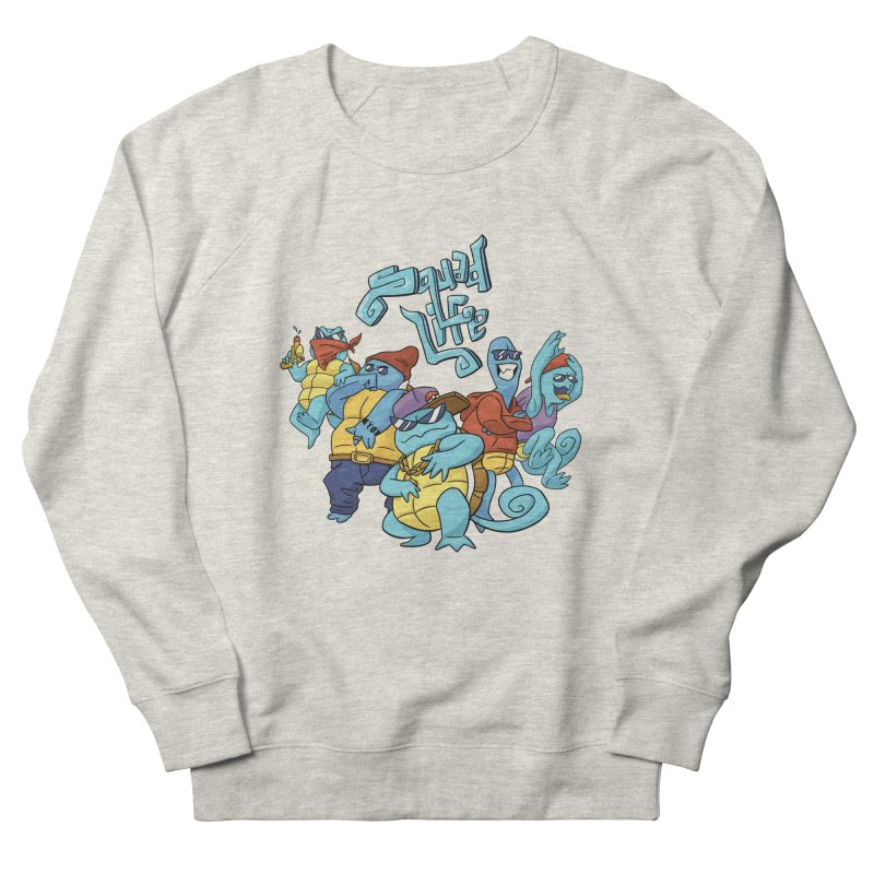 Squad Life Men's French Terry Sweatshirt by Shannon's Stuff