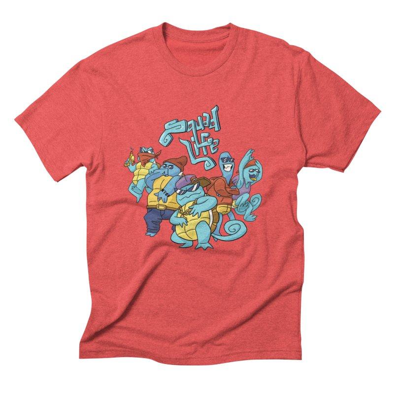 Squad Life Men's Triblend T-Shirt by Shannon's Stuff