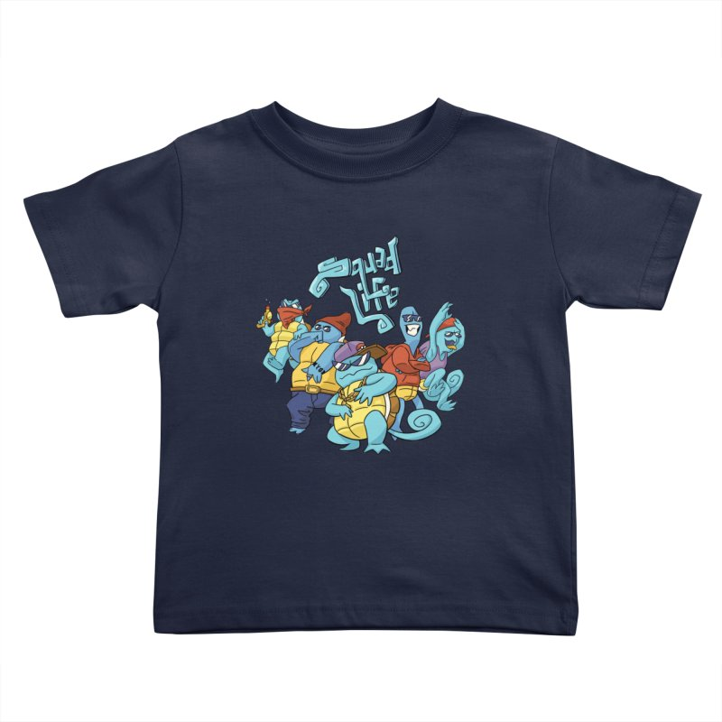 Squad Life Kids Toddler T-Shirt by Shannon's Stuff