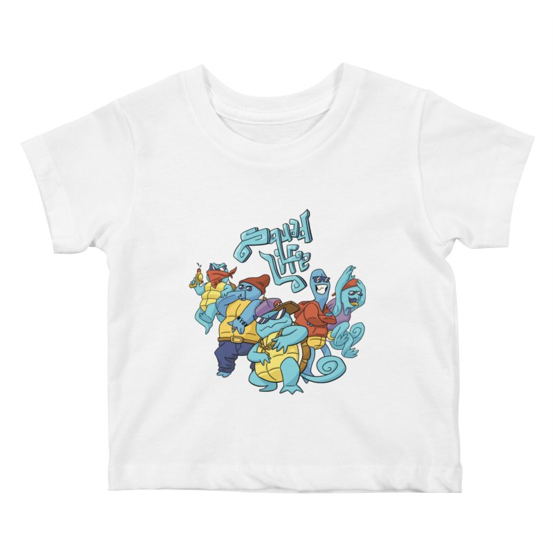Squad Life Kids Baby T-Shirt by Shannon's Stuff