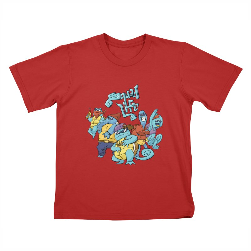 Squad Life Kids T-shirt by Shannon's Stuff