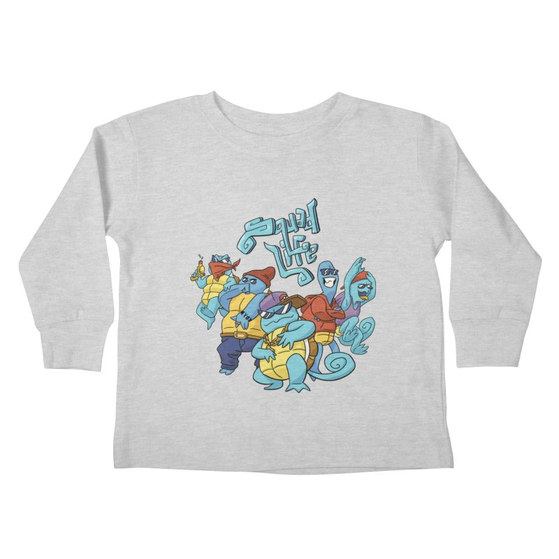 Squad Life Kids Toddler Longsleeve T-Shirt by Shannon's Stuff